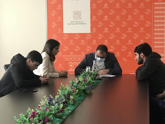 Գյուղատնտեսական քոլեջի ուսանողների այցը Կոմիտեի առանձնացված ստորաբաժանումներ