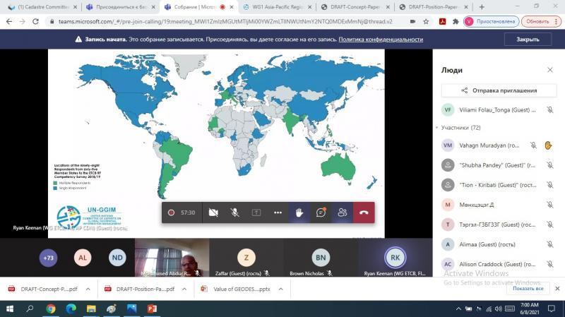 «Տեղանքի ներուժը. գեոդեզիայի դերը հասարակության մեջ» խորագրով Համաշխարհային համաժողով