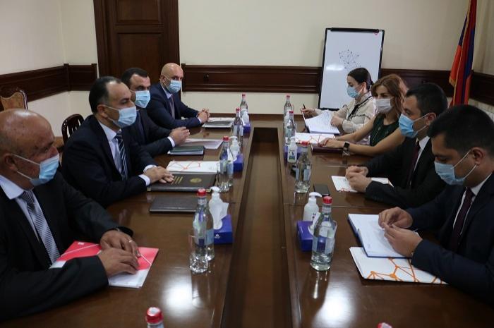 Համագործակցություն. Կադաստրի կոմիտեում է Արցախի հանրապետության մասնագիտական պատվիրակությունը