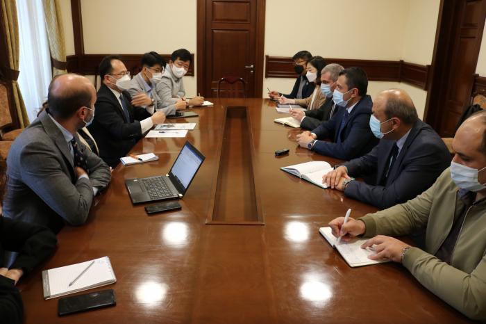 """ԱԶԲ ներկայացուցիչների և """"LX Korea"""" ընկերության մասնագիտական առաքելության այցը կոմիտե"""