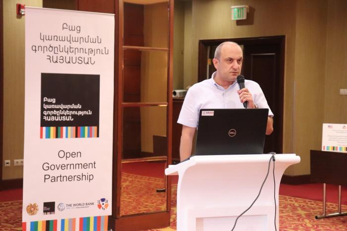 2021թ. օգոստոսի 30-ին տեղի ունեցավ Բաց կառավարման գործընկերություն-Հայաստան չորրորդ «Ռեֆորմների ցուցահանդես»-ը։